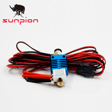 SUNPION 3d Printer Parts kit 3D Full Metal Hotend Kit CR8/CR10 For CR-10 CR-10S V6 Bowden Extruder 1.75/0.4MM Nozzle