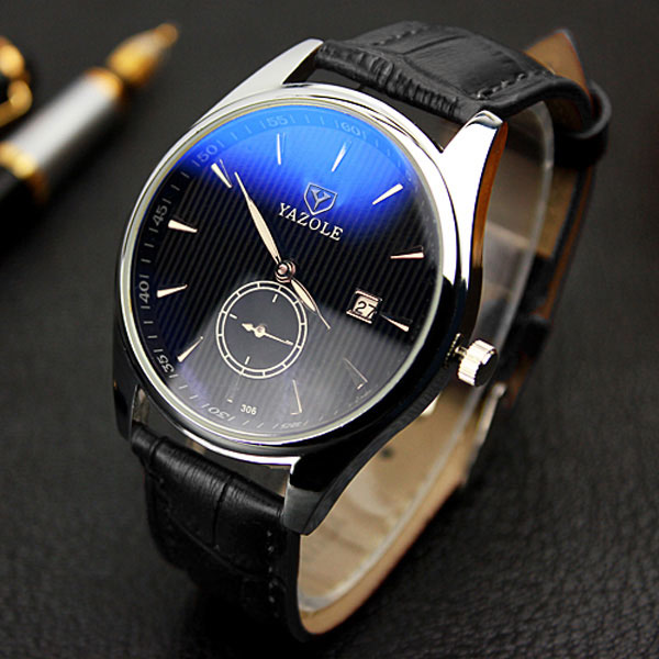 YAZOLE Wristwatch New Calendar Wrist Watch Men Top Brand Luxury Famous Male Clock Quartz Watch for Men Hodinky Relogio Masculino new listing men watch luxury brand watches quartz clock fashion leather belts watch cheap sports wristwatch relogio male gift