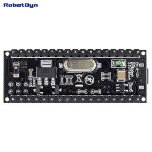 Micro atmega32u4 (5 v, 16 mhz). Pinos soldada. Compatível com arduino micro e leonardo