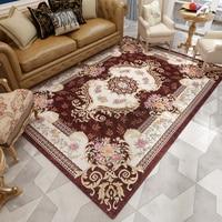 Europa Palace Jacquard Teppich Wohnzimmer Hause Schlafzimmer Teppich Klassische Teppich Für Sofa Kaffee Tisch Studie Zimmer Boden Matte Kinder Teppiche-in Teppich aus Heim und Garten bei