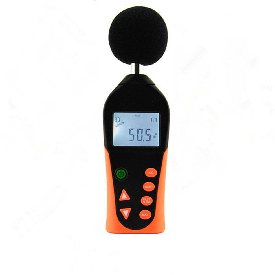 Original Hot Sale Handheld Noise Meter Detector Decibel Meter Noise Tester High Precision Sound Level Meter Instrument uyigao ua6070b handheld automotive oxygen meter high precision o2 gas tester monitor detector with lcd display sound light alarm