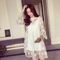 2016 new summer maternity dresses lace dresses and t shirts pregnncy dresses maternity clothing set summer clothing 16662