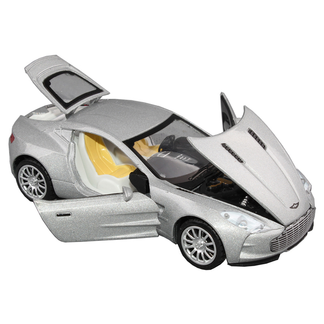 free shipping Wanbao toy car aston martin alloy car model toy car acoustooptical WARRIOR open the door