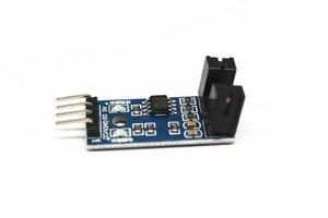 Image 3 - Envío Gratis 100 Uds infrarrojo ir Módulo Sensor de velocidad/Motor Módulo de prueba/ranura Tipo optoacoplador módulo 4 pin LM393