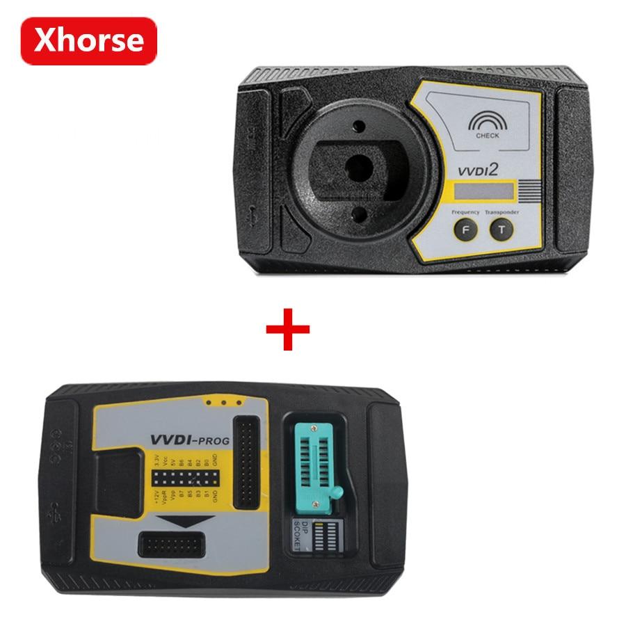 Xhorse Vvdi2 Full Version V560 Commander Key Programmer For Audi Msd Tach Adapter Wiring Porsche Bmw Plus Vvdi Prog V474 In Auto Programmers From Automobiles