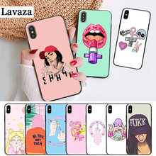 Lavaza feminist logo pertty Silicone Case for iPhone 5 5S 6 6S Plus 7 8 11 Pro X XS Max XR