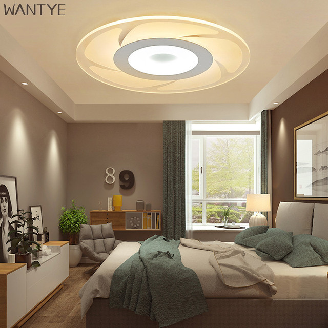 Modern LED Ceiling lamp Living room Bedroom Ceiling light with ...