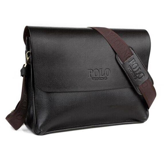 SULPPAI POLO business aktentasche berühmte marke Italienischen design, leder männer tasche, freizeit echte leathe tasche