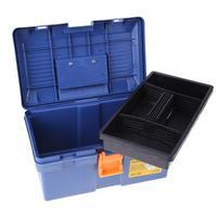 30kg Capacity Multi Function Plastic Tool Box Two Layer Home Vehicle Maintenance Hand Held Art Hardware