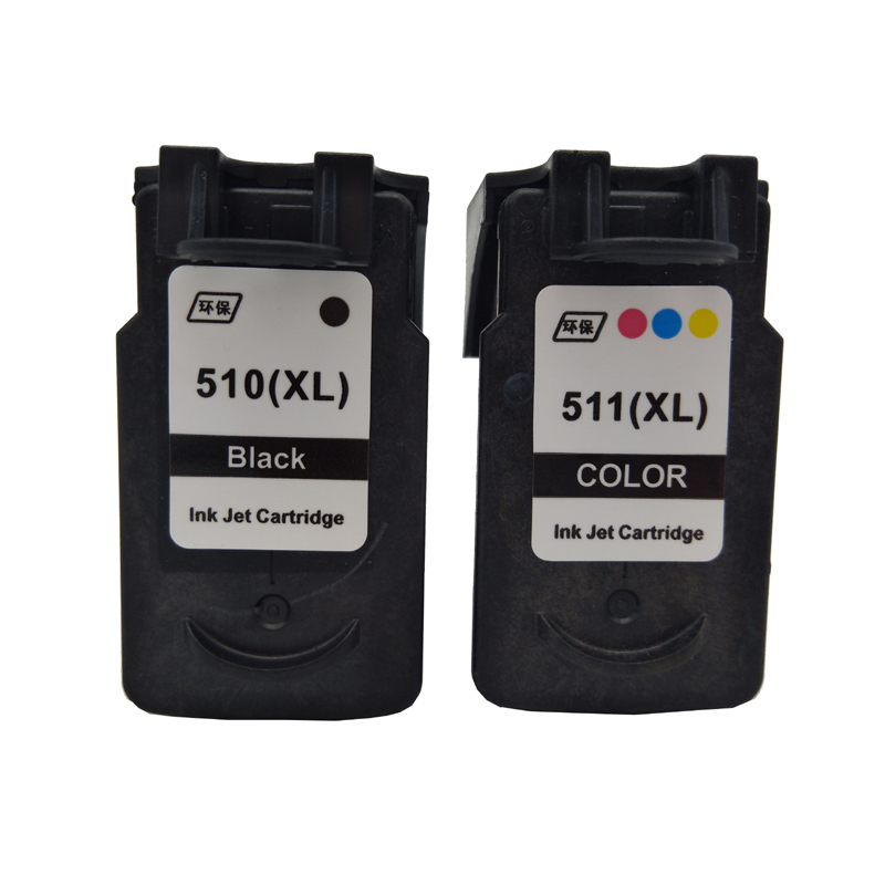 einkshop PG-510 CL-511 Ink Cartridge Replacement For Canon pg510 cl511 pg 510 PIXMA MP280 MP480 MP490 MP240 MP250 MP260 MP270 image