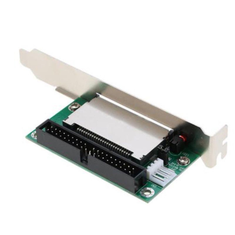 Bootable 40-Pin CF To IDE Adapter Converter Connector Back Panel Accessories IDE Converter Card For Laptop