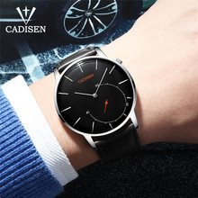 2018 CADISEN Watches Men Luxury Brand Quartz Watch Casual Fashion Business Watch Reloj Hombre Clock Male Hour Relogio Masculino стоимость