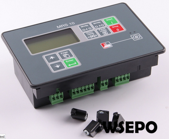 Top Quality Replacement Controller, MRS10 Control Module/Controller Unit for Diesel Generator Set free shipping deep sea generator set controller module p5110 generator control panel replace dse5110
