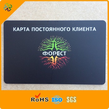 Digital Printing Photo Visa Credit Size plastic pvc visiting card