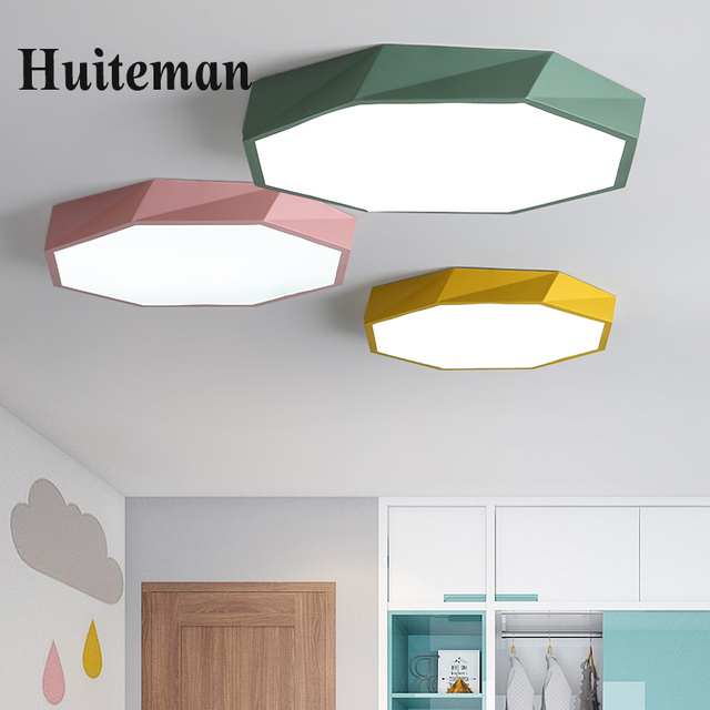 Kids Room Lights Children Dimmable Ceiling Lamp Baby Ceiling Light