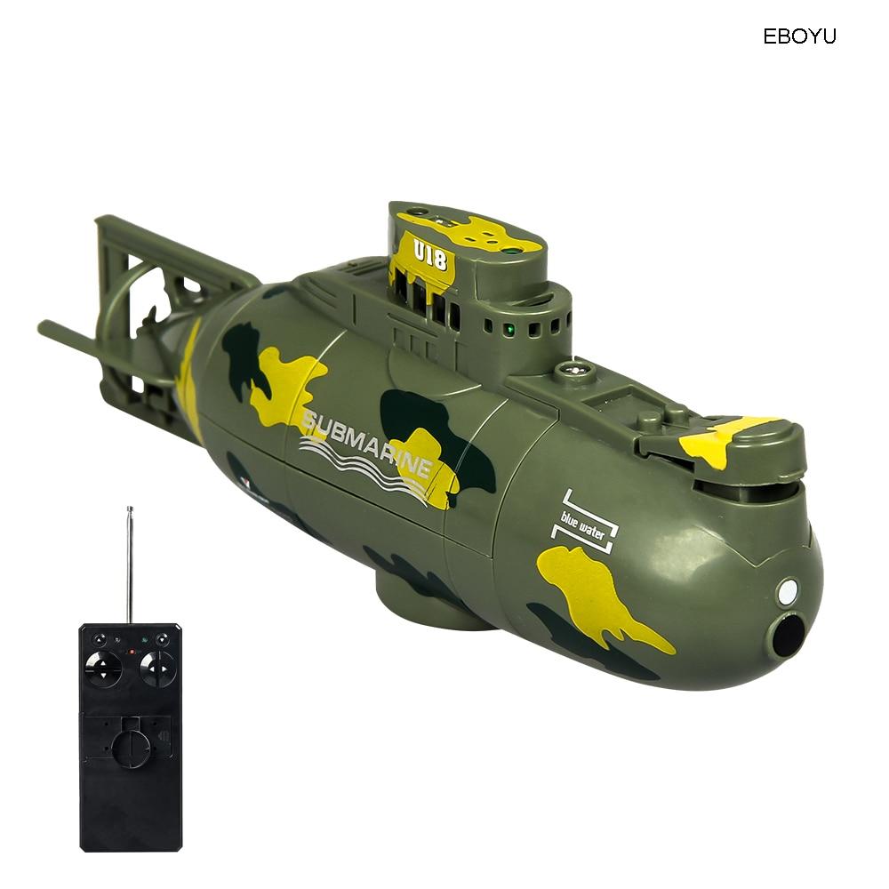 ShenQiWei 3311M 6CH Speed Radio Remote Control Submarine Electric Mini RC Submarine Kids Children Toy