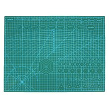 A2 Pvc Double Printed Self Healing Cutting Mat Craft Quilting Scrapbooking Board 60 x 45Cm Patchwork Fabric Paper Craft Tools(China)
