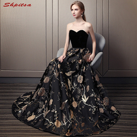 Black Mother of the Bride Dresses for Weddings Plus Size A Line Evening Groom Godmother Dresses Gown