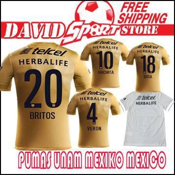 Pumas UNAM 2015 2016 Jerseys Chivas Tijuana  04195aff4