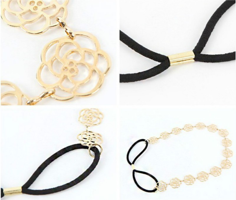 rose flower hair jewelry8
