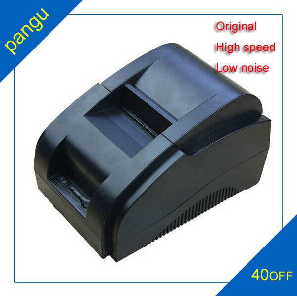 ФОТО High Speed USB Port 58mm Thermal Receipt Pirnter POS printer Low Noise Mini Thermal printer XP-58IIH