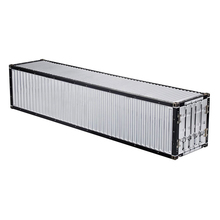 1/14 40FT Aluminium Frame Container Kit For RC Tamiya Scania R620 Actros Trailer HH-140405 lesu air discharge metal box 1 14 model tamiya scania r620 r470 rc tractor truck