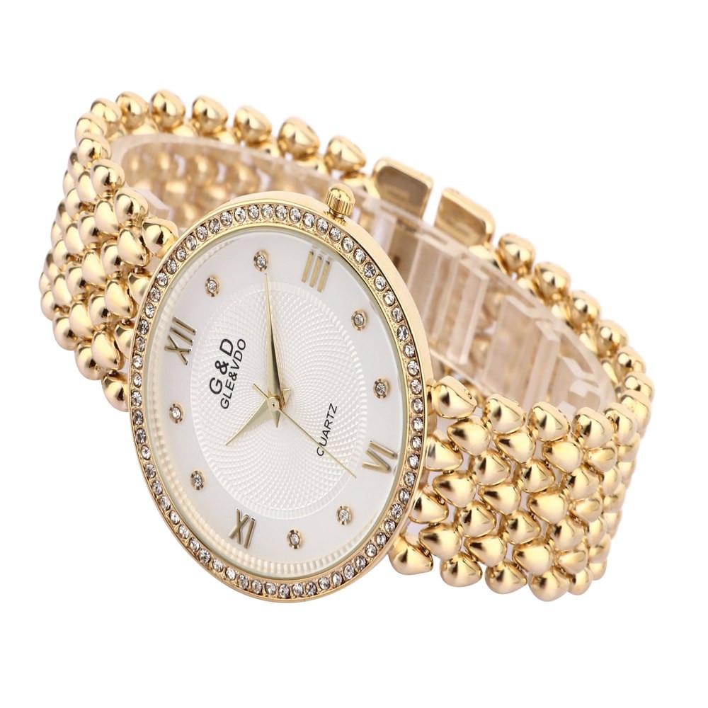 G&D կանանց ձեռքի ժամացույցներ Quartz Watch - Կանացի ժամացույցներ - Լուսանկար 6