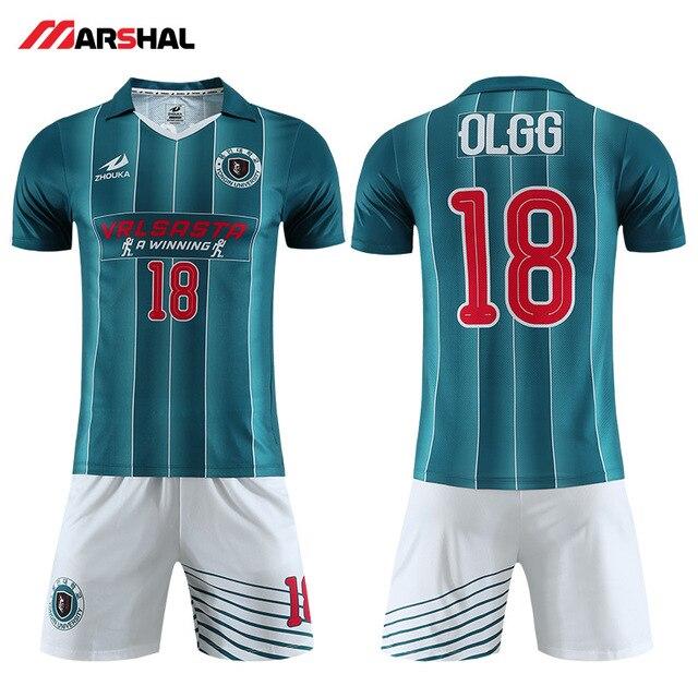 Sublimado ropa deportiva camisetas de fútbol de la juventud uniforme de  fútbol de diseño en línea 6dd147568c5ce