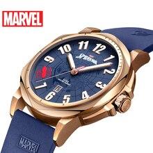 Disney Official authorization original Marve AVENGERS SPIDER MAN QUARTZ watch Waterproof Male stainless Steel Luxury M-9065 NEW
