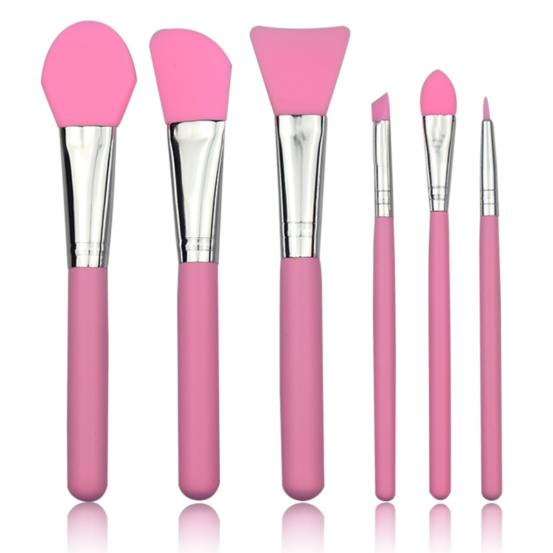 Concealer Eyeliner-Brush-Set Silicone Mask Eyeshadow Foundation Make-Up-Brushes Eyebrow