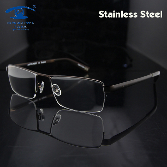 Marca Designer 2016 óculos de homens óculos óculos de armação óculos aceitar Rx lente de vidro de Vison