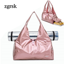 Ladies Men Travel Bag Famous Brand Large Zipper Nylon Solid Black Casual Bags Packing Cubes Sac Main Femme