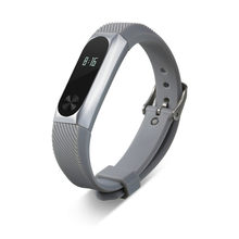 New 2017 For Xiaomi Mi Band 2 Bracelet Replacement Wristband Band Strap + Metal Case Cover drop shipping 0601(China)