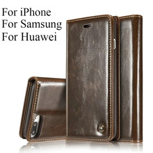 Роскошные Coque для откидная крышка Apple iPhone 7 чехол из натуральной кожи кошелек оригинальный бренд чехол для телефона iPhone 7 плюс caseme