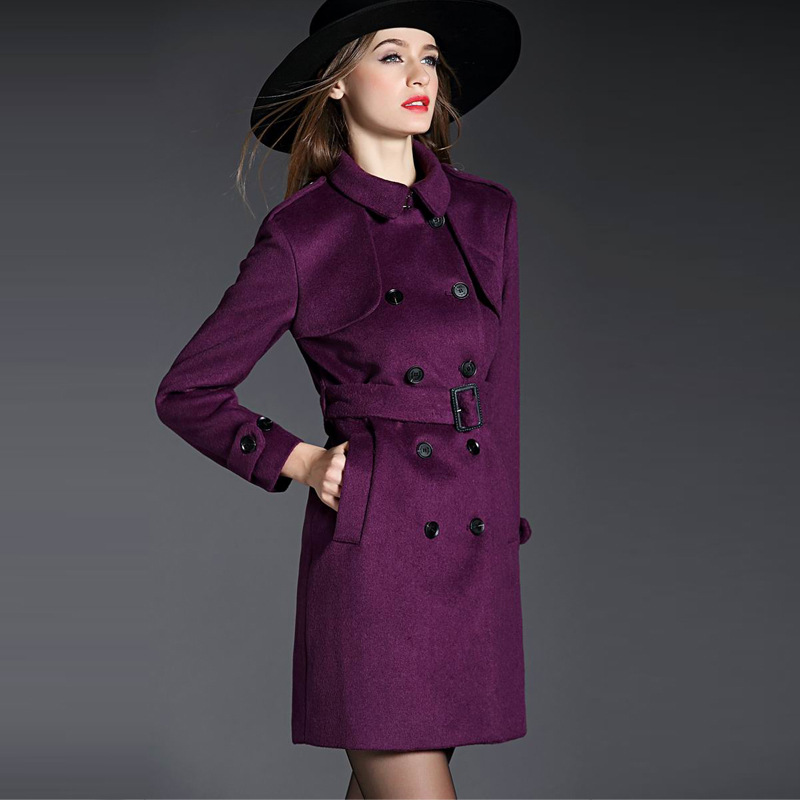 woolen coat Picture - More Detailed Picture about British Brand ...