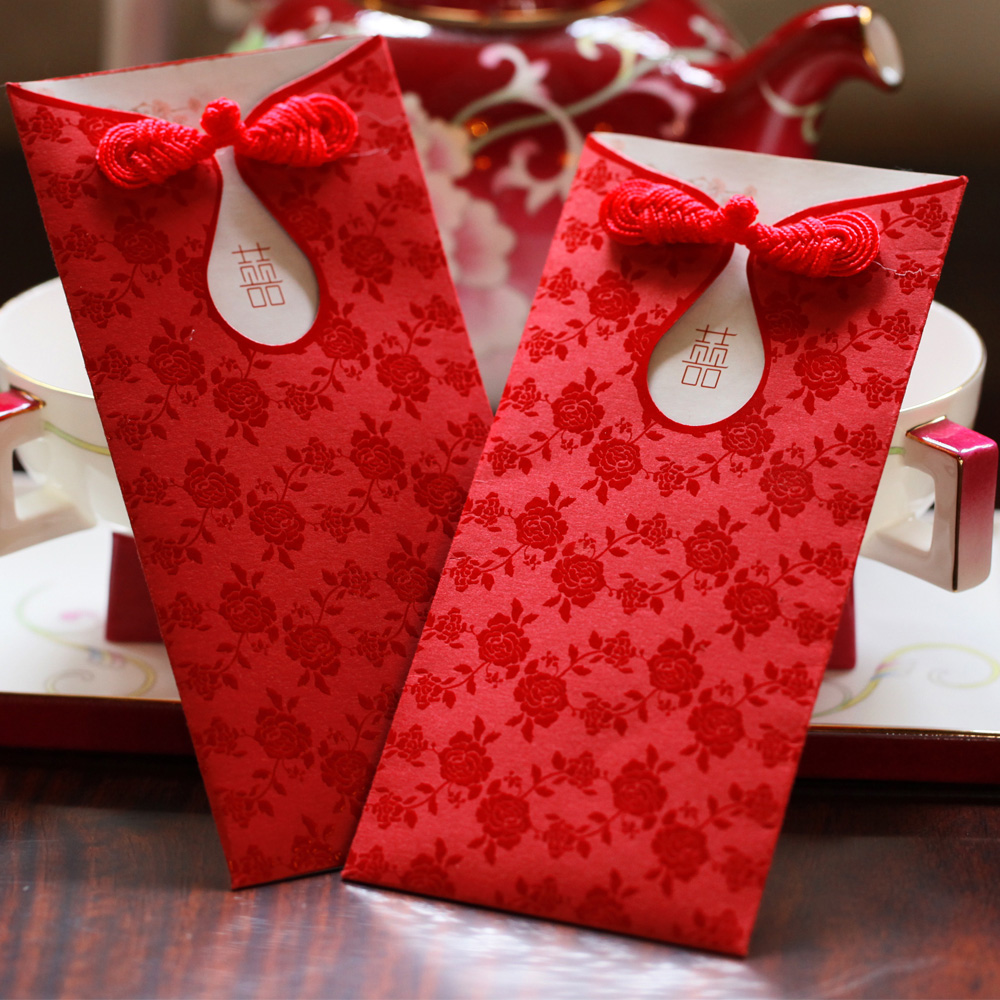 Red Envelope Marry Distance Bags Wedding Supplies China Wind