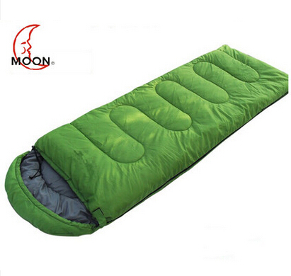 MOON camping 1.5kg thick warm autumn and winter hot outdoor outdoor sleeping bags moon flac jeans