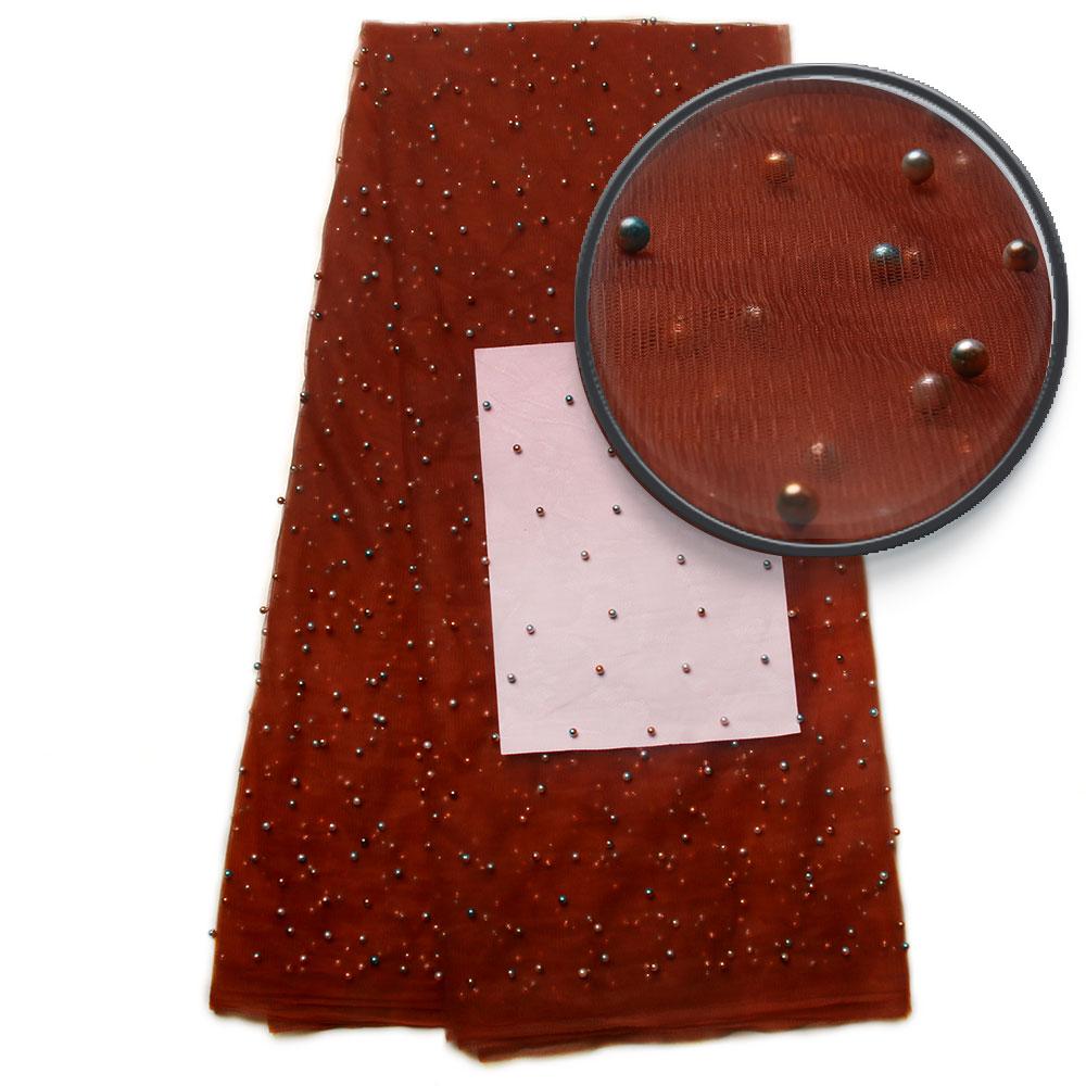 Tkanine iz nigerijskih čipk 2017 poročne čipke iz afriške čipke - Umetnost, obrt in šivanje - Fotografija 1