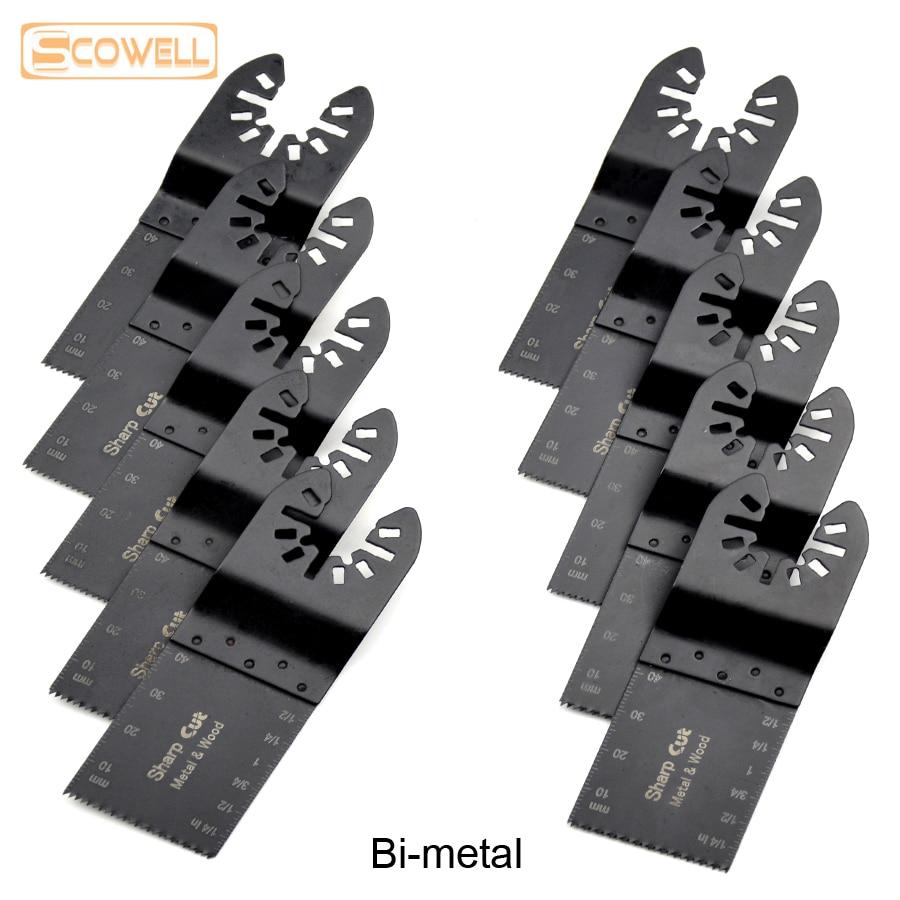 30% engedmény Bi-metal 34 mm-es univerzális oszcilláló szerszámok fűrészlapok Kiegészítők a Multimaster elektromos kéziszerszámokhoz