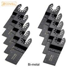 30% Off Bi metalen 34mm Universal Oscillerende Gereedschap Zaagbladen Accessoires fit voor Multimaster Elektrisch gereedschap Multi Tool zaag Lintzaag