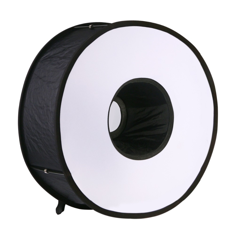 45cm Diameter /18″ Ring Flash Diffuser Softbox Collapsible Magnetic Round