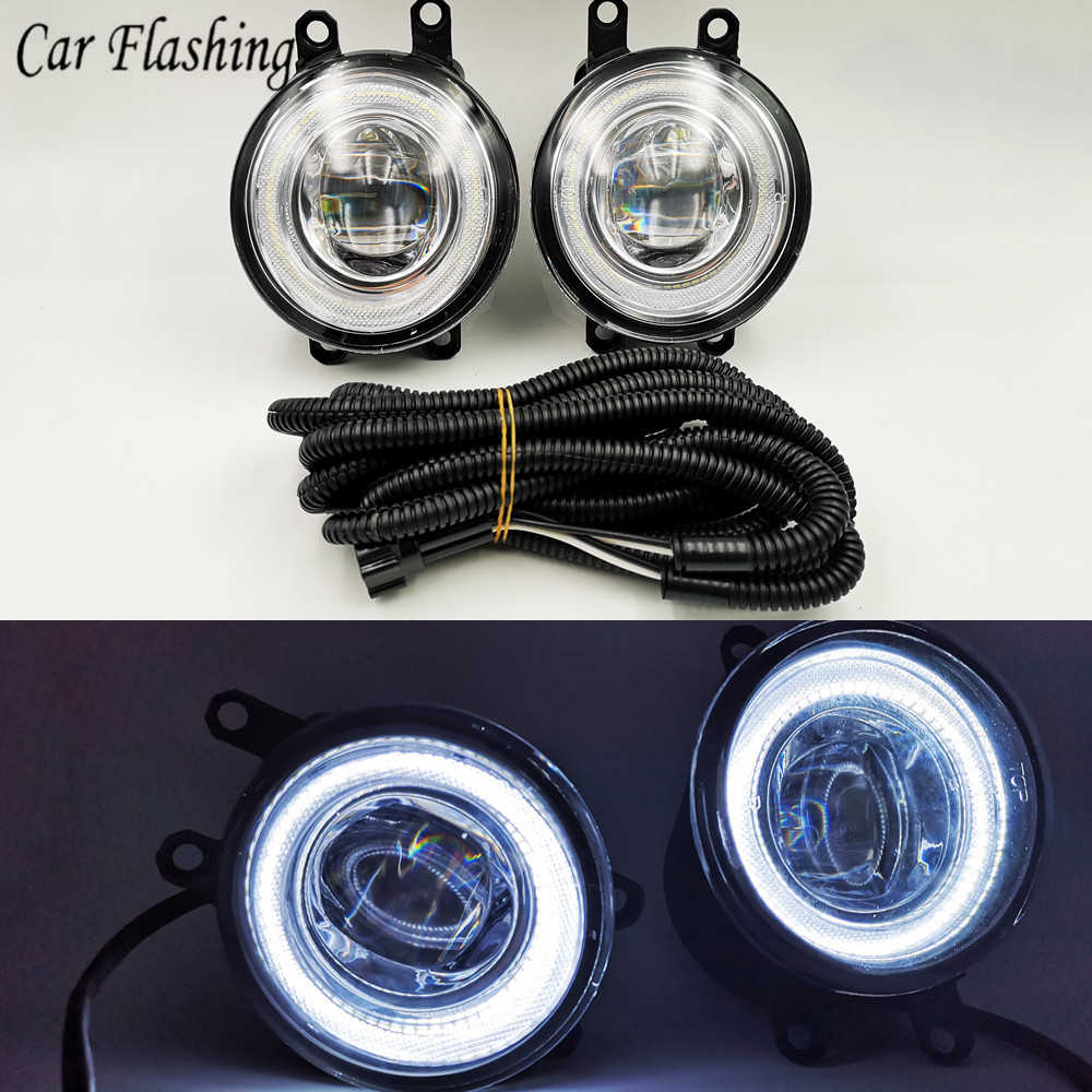 One Pair Of Led Drl Daytime Running Light Replacement Wiring Set For Oldsmobile Fog Lights Wiring Diagram on