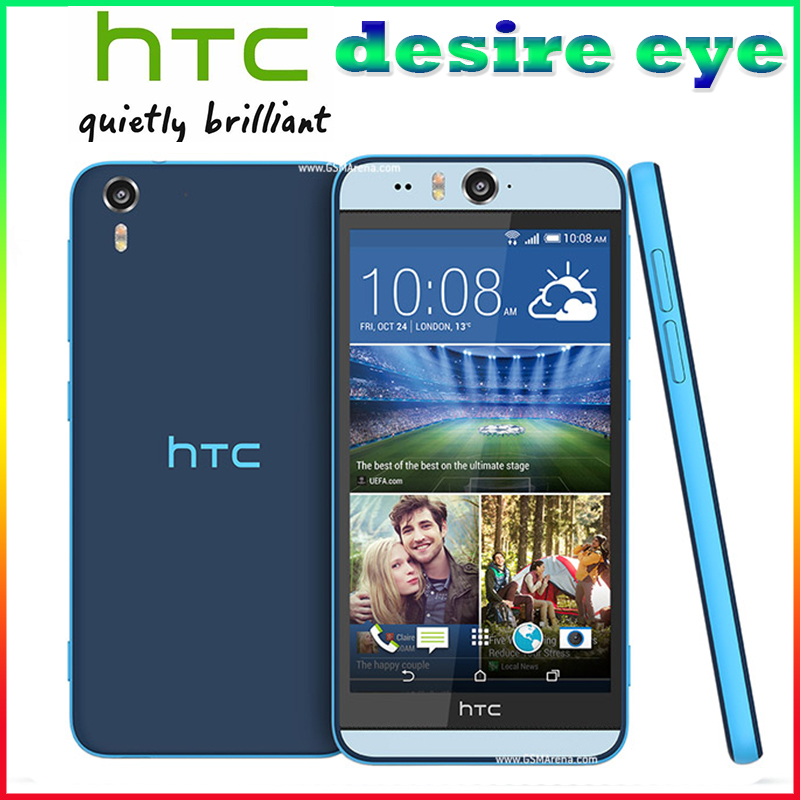 "Original Unlocked HTC Desire Eye Quad Core 5.2"" 13MP Camera 3G 2GB RAM+16GB ROM 1080I GPS WIFI Smartphone Free Shipping"