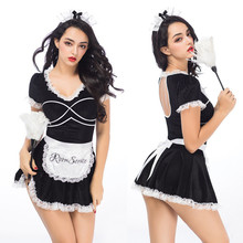 Women Porno Sexy Lingerie Hot Erotic Maid Cosplay Costume Underwear Babydoll Sleepwear