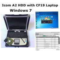 2019.03 For BMW ICOM A2 B C Icom next Software Latest Version Ista d 4.15 ista p 3.66 500gb HDD with Toughbook CF19 Laptop 4g