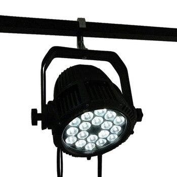 Sortie d'usine LED étanche Par 18x12W RGBW LED lumière de piscine extérieure étanche projecteur piscine DMX effet scène lumières|Éclairage de scène à effet| |  -