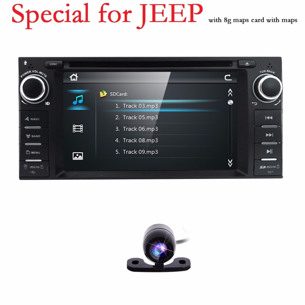 dodge ram challenger jeep wrangler jk head unit single