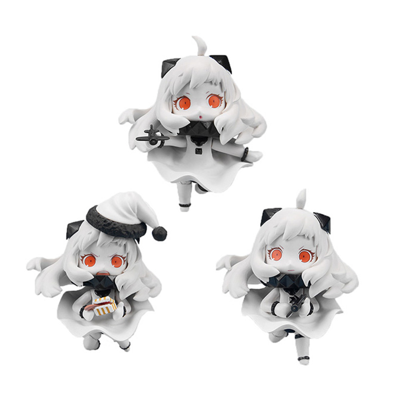 Chanycore Nendoroid 414243# 3pcs/set Style Phat Medicchu Kantai Collection Colle Northern Princess Figure Collection 10cm 4'' форадил порошок 12мкг 60 капсулы ингалятор