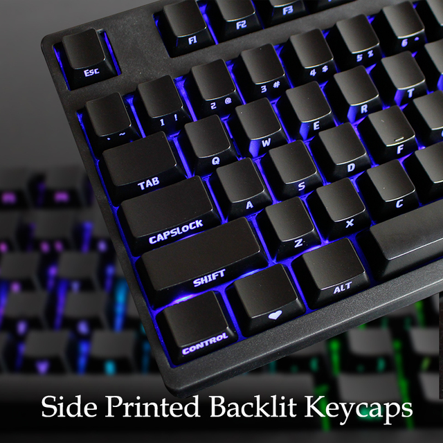 9142e37cf6f Free shipping 104 abs side printed backlit keycap with caps puller remover  tool for Varmilo mechanical keyboard ISO ANSI layout