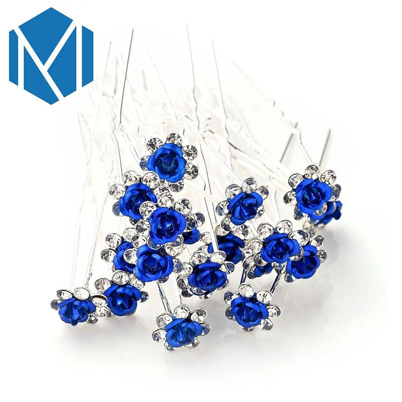 M MISM 1 Can = 20 PCS boda matrimonio Rhinestone aleación de flores - Accesorios para la ropa - foto 4